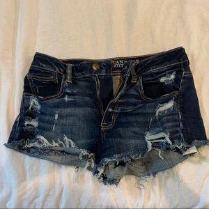 Barely worn jean shorts